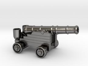 Cannon Penholder in Polished Nickel Steel