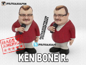 Ken Bone R. Inaction Figure in Full Color Sandstone: Small