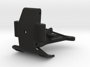 058006-01 ORV Double Wishbone Transmission Base in Black Natural Versatile Plastic