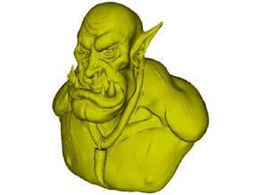 1/9 scale Orc daemonic creature bust B in Frosted Ultra Detail