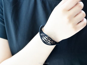 Liquid Tension* Bangle ( Small ) in Black Strong & Flexible