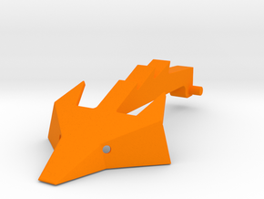 Foxic 1/10th scale arm and head  in Orange Strong & Flexible Polished