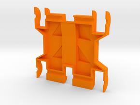 Foxic 1/10th scale body top in Orange Processed Versatile Plastic