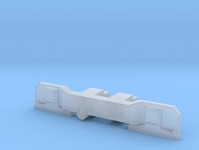 Cover bogie Johannesburg Streamliner 4mm in Frosted Ultra Detail