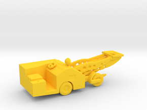 1/144 Scale Aircraft Bomb Loader in Yellow Strong & Flexible Polished