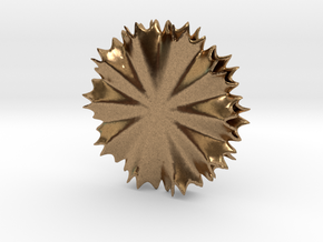 Sculpture generator G2 in Natural Brass
