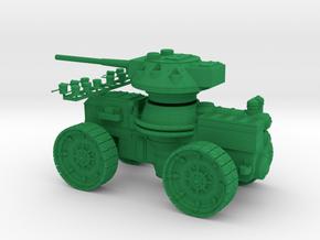 15 mm AQMF SAMSON HEAVY GUN in Green Processed Versatile Plastic