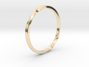 Infinity Ring in 14K Yellow Gold: 10 / 61.5