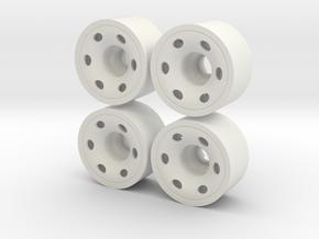 MINI Z-REAR 208 +02 in White Natural Versatile Plastic