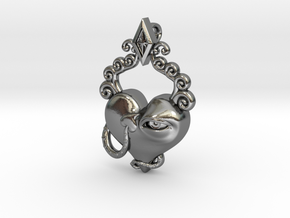 Love's Eye Opener in Polished Silver