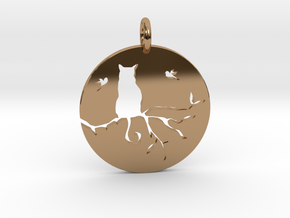 The Cat in Polished Brass