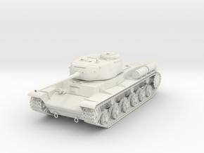 Tank KV-85 1:100 in White Strong & Flexible: 1:100