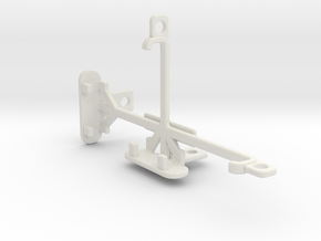 Apple iPhone 5 tripod & stabilizer mount in White Natural Versatile Plastic