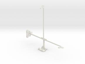 Apple iPad Wi-Fi tripod & stabilizer mount in White Natural Versatile Plastic
