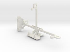 BLU Advance 4.0 L2 tripod & stabilizer mount in White Natural Versatile Plastic
