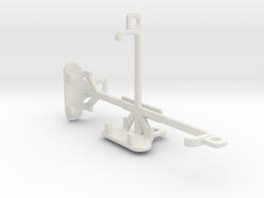 BLU Dash L2 tripod & stabilizer mount in White Natural Versatile Plastic
