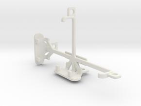 BLU Dash 4.0 tripod & stabilizer mount in White Natural Versatile Plastic