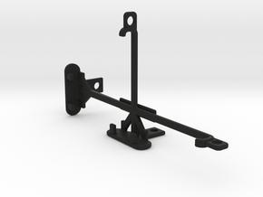 BLU Vivo 5 tripod & stabilizer mount in Black Strong & Flexible