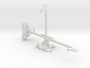 Google Pixel XL tripod & stabilizer mount in White Natural Versatile Plastic