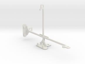 Huawei MediaPad X2 tripod & stabilizer mount in White Natural Versatile Plastic
