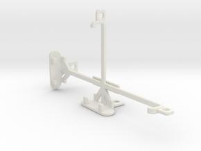 Lava A79 tripod & stabilizer mount in White Natural Versatile Plastic
