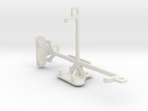 Motorola Moto E Dual SIM (2nd gen) tripod mount in White Natural Versatile Plastic