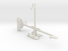 Motorola Moto X Force tripod & stabilizer mount in White Natural Versatile Plastic