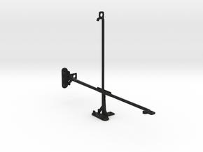 Samsung Galaxy Tab 4 10.1 (2015) tripod mount in Black Natural Versatile Plastic
