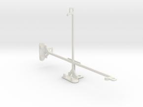 Samsung Galaxy Tab E 8.0 tripod & stabilizer mount in White Natural Versatile Plastic