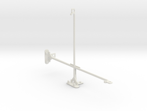 Samsung Galaxy Tab S 10.5 tripod mount in White Natural Versatile Plastic