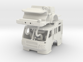 1/87 E-One Quest Raised Roof in White Strong & Flexible
