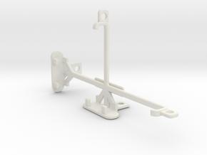 Sony Xperia Z1s tripod & stabilizer mount in White Natural Versatile Plastic