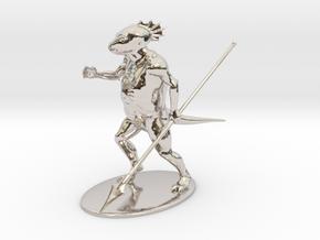 Troglodyte Miniature in Platinum: 1:60.96
