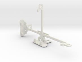 verykool s5017Q Dorado tripod & stabilizer mount in White Natural Versatile Plastic