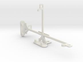Yezz Andy 5.5M LTE VR tripod & stabilizer mount in White Natural Versatile Plastic