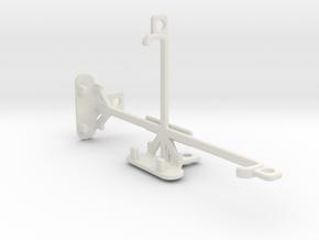 ZTE Nubia Z9 tripod & stabilizer mount in White Natural Versatile Plastic