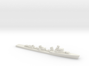 Skoryy-class destroyer, 1/1800 in White Natural Versatile Plastic