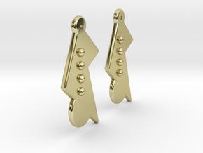 Vintage Earrings Pair in 18k Gold Plated