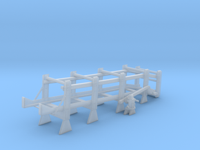 1/96 DC Release Track Mk 9 Mod 2 Starboard in Smooth Fine Detail Plastic