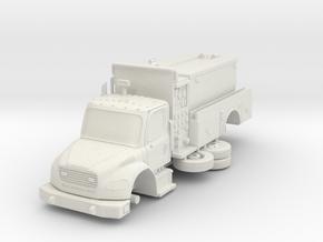 1/64 FDNY Seagrave Foam tanker in White Strong & Flexible: 1:64