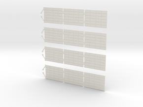 Orion SM Solar Panels 1:32 in White Natural Versatile Plastic
