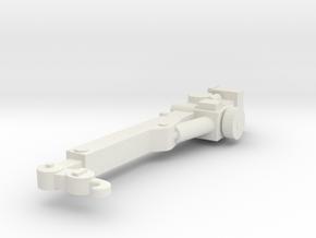 1/87 TSU Support Crane in White Natural Versatile Plastic