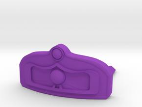 Tiara Hair Comb in Purple Processed Versatile Plastic