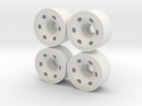 MINI Z-REAR 215+02 in White Natural Versatile Plastic