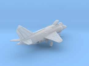 010E Yak-38 1/200 Unfolded Wing in Smooth Fine Detail Plastic