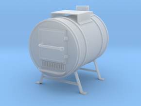 Shop Heater Stove in Smooth Fine Detail Plastic: 1:20