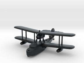 Supermarine Walrus in Black Hi-Def Acrylate: 1:200