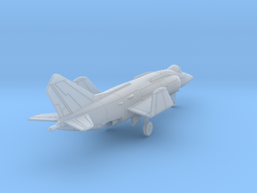 010D Yak-38 1/200 Folded Wings in Smooth Fine Detail Plastic