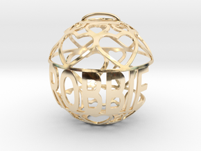 Robbie Lovaball in 14k Gold Plated Brass