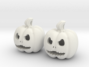 Calabaza_2 in White Natural Versatile Plastic